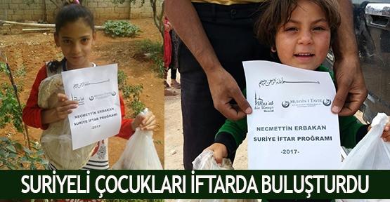 Suriyeli çocukları iftarda buluşturdu