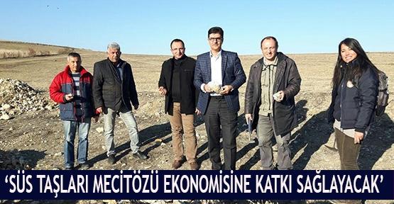 'Süs Taşları Mecitözü ekonomisine katkı sağlayacak'