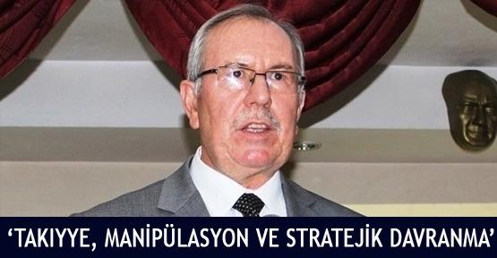 'Takıyye, Manipülasyon ve stratejik davranma'