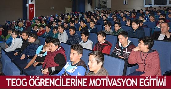 TEOG öğrencilerine motivasyon eğitimi