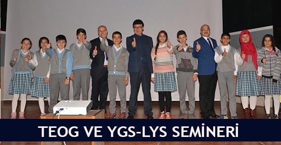 TEOG ve YGS-LYS semineri