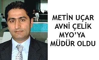 Alaca Avni Çelik MYO'ya müdür