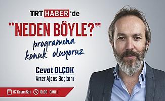 Cevat Olçok TRT Haber'in konuğu