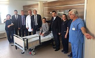 Hastanede başarılı operasyon