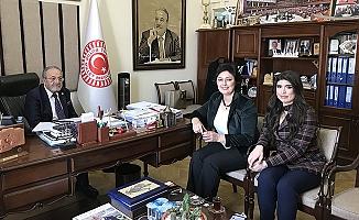 MHP'den Uslu'ya ziyaret