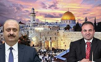 2 Başkan Yardımcısı Kudüs'te