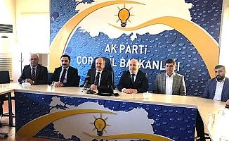 AK Parti'de toplandılar