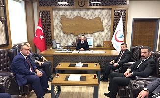 MHP'den Başhekim'e kutlama