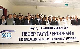 Taşeronlar Erdoğan'a müteşekkir