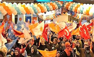 AK Partili kadınlar başkanını seçti