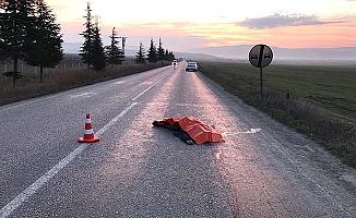 Çorum yolunda kaza, 1 ölü