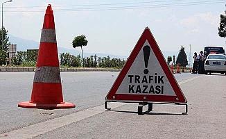 Hacıhamza'da kaza, 6 yaralı