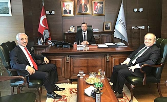 Karadağ ve Gül Ankara'da