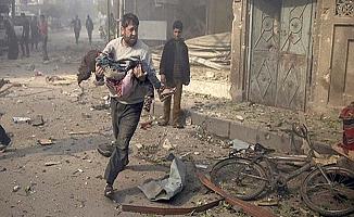 İdlip'te sivil katliama tepki!