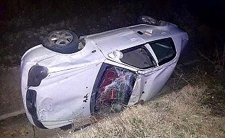 Suriyeli sürücü kazada can verdi