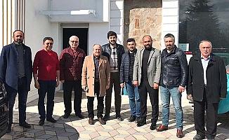 Esnaf ziyaretinde gündem Afrin