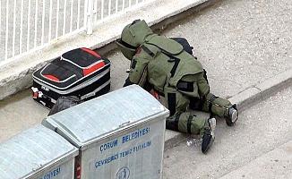 Valizler bina önüne bırakılınca...!