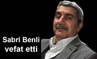 Sabri Benli vefat etti