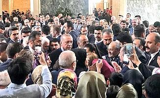 Cumhurbaşkanı ile buluştular