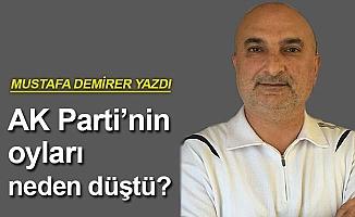 AK Parti'nin oyları neden düştü?