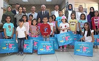 Belediye'den 3 bin çocuğa bayramlık