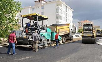 Belediye asfalta yoğunlaştı