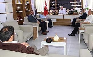 İYİ Partili Başkan'a nezaket ziyareti