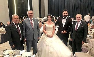 Şekip Şahadoğru'nun torunu evlendi