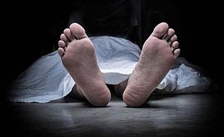 Yaşlı adam feci şekilde öldü
