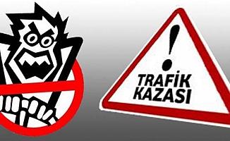 Alaca-Yozgat yolunda kaza