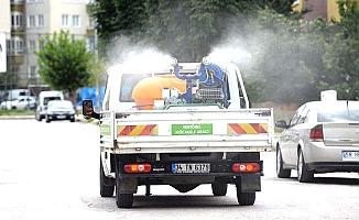Belediye Mimar Sinan'ı ilaçlıyor