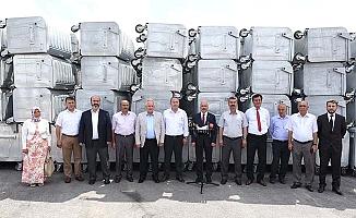 Çevreci yatırımda konteynır dağıtımı