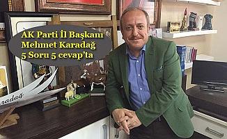 Karadağ belediye başkanlığına aday olacak mı?