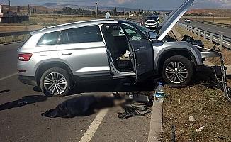 Kırıkkale yolunda feci kaza