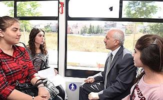 Otobüste sohbet