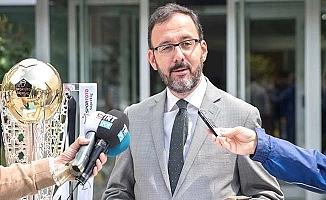 Spor Bakanı Kıyıklık'ın damadı