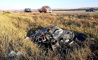 Bayram sabahı feci kaza
