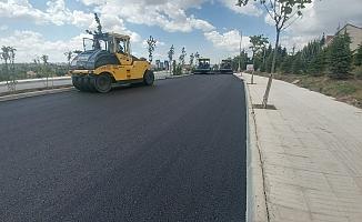 Binevler'e asfalt, baraj yoluna düzenleme