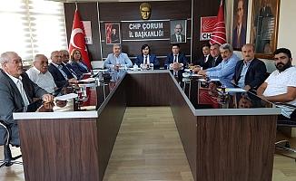 CHP'de seçim toplantısı