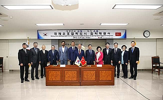 Güney Kore'den Çorum'a uzanan kardeşlik