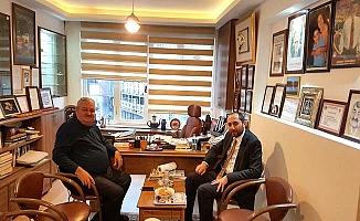 Rektör Türkoğlu'nu ziyaret etti