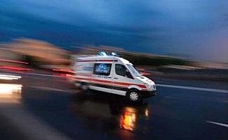 Asker kazada yaralandı