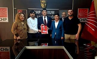 Başkan adaylığı ilk başvurusu CHP'den