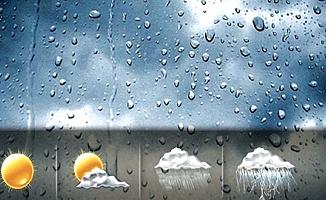Bölgede yağış var