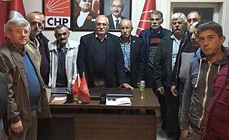 CHP'de ilk istifa