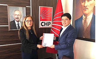 CHP'de ilk kadın aday