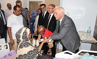 Cibuti'den 5 çocuk tedavi için Çorum'da