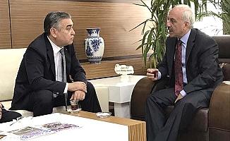 Gül'e Büyükelçi ziyareti