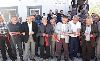 İkizce köyü Cami dualarla açıldı