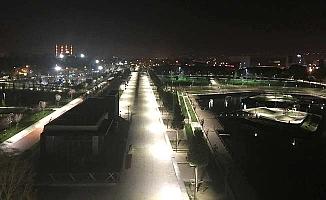 Kentpark'ta gece manzarası